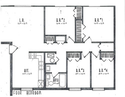 Four Bedrooms